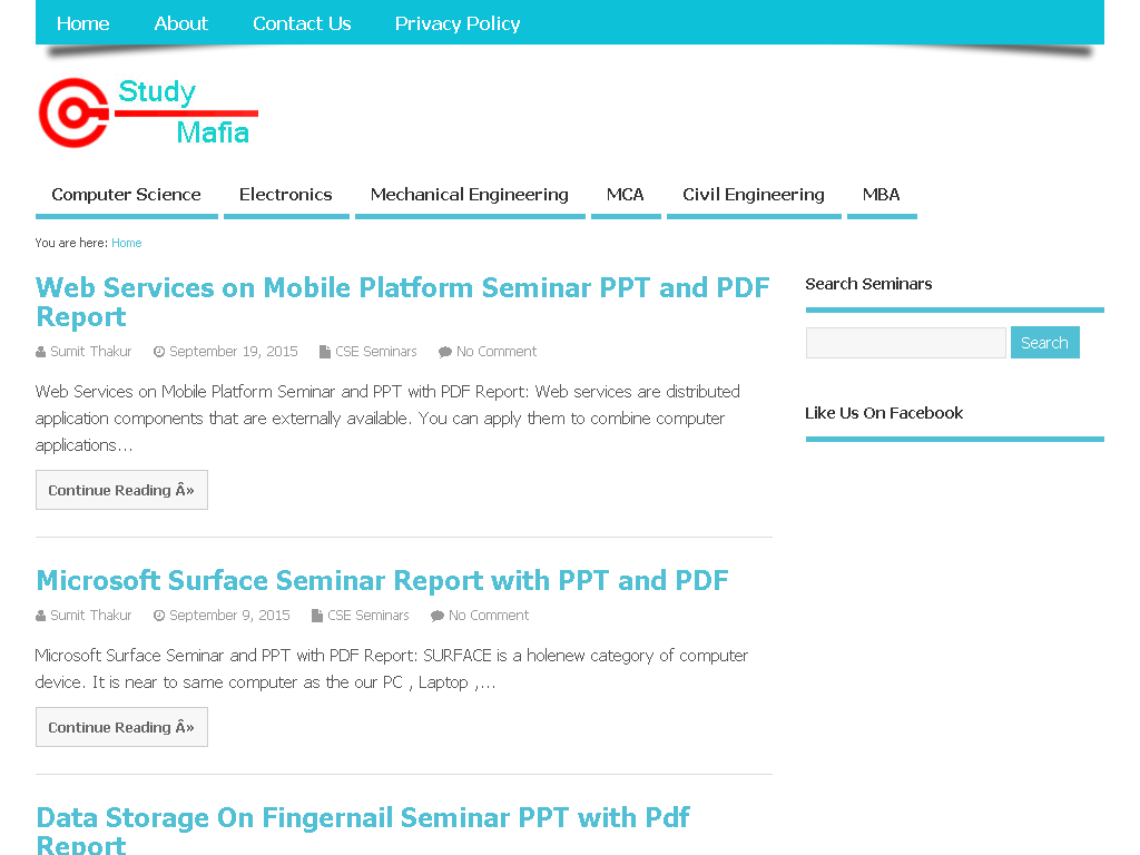 Engineering topics pdf seminar civil ppt
