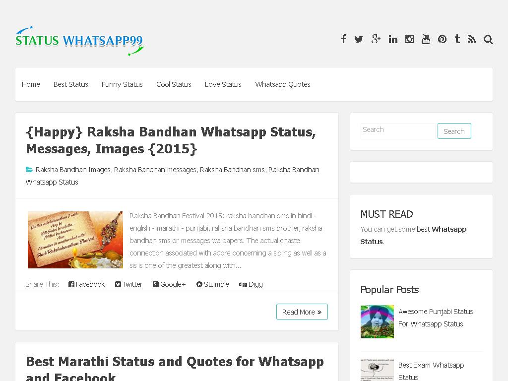 Status For Whatsapp Whatsapp Status Web Directory