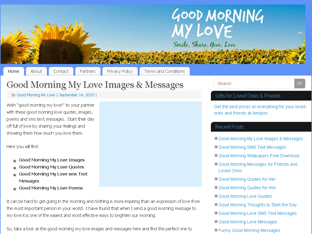 Good Morning Messages, Quotes & Poems - Web Directory