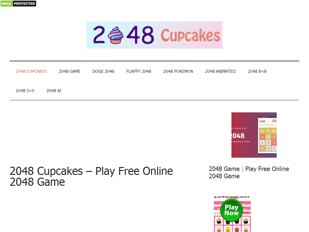 20 Cupcakes   Play Free Online Game   Web Directory