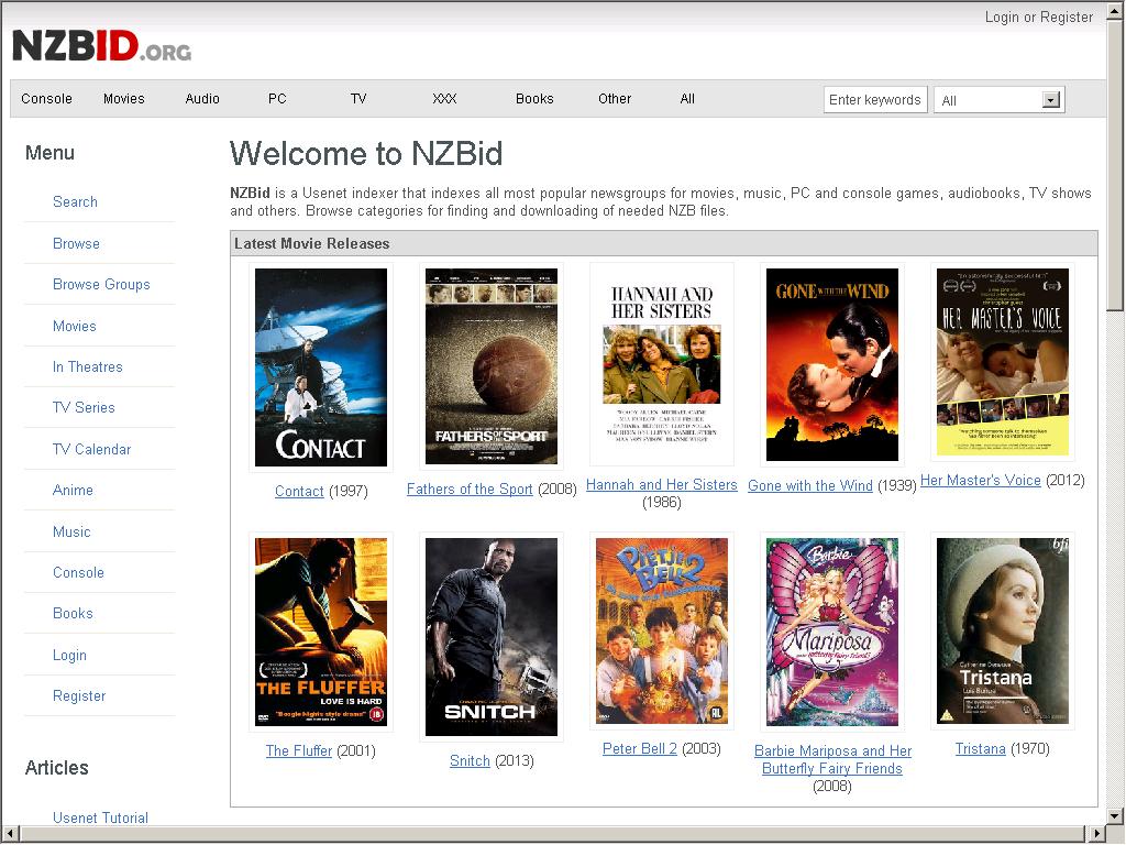 NZBid - Usenet Indexer - Web Directory